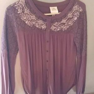 Knox Rose button down blouse Medium